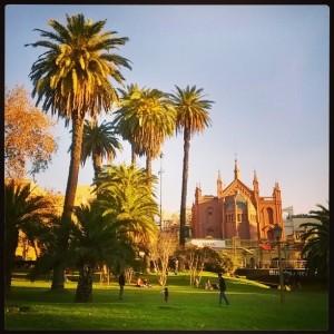 ブエノスアイレスでお気に入りの場所:Plaza Francia