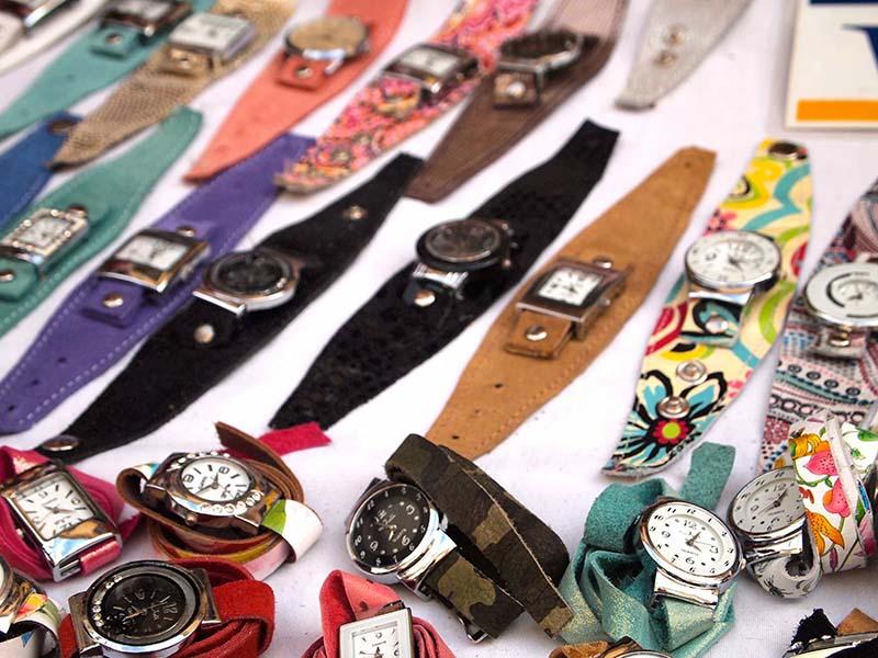 アルゼンチンといえば革製品。この時計、ひとつ欲しいな。