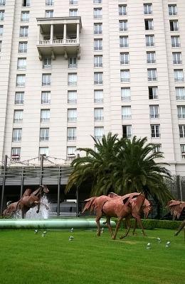 レコレッタ地区とレティーロ地区には、美しいホテルや大使館がたくさんあります。
