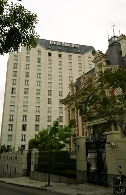 いつか泊まってみたいフォー・シーズンホテル。
