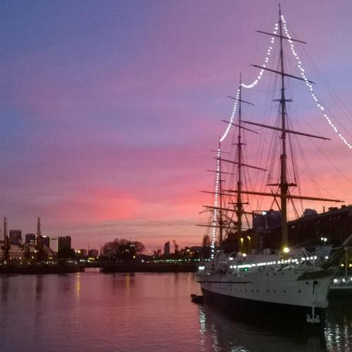 ここで見る夕焼けは本当にきれい!